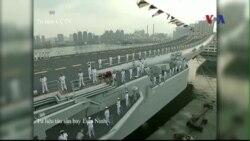 Trung Quốc đưa tàu sân bay ra biển tập trận