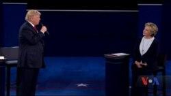 Уперше в історії президентських виборів у США один із кандидатів фактично погрожував іншому в'язницею у разі своєї перемоги. Відео