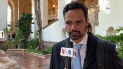Pablo Abrau, de la CIDH, entrega informe sobre Nicaragua