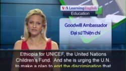 Anh ngữ đặc biệt: UNICEF Female Education (VOA)