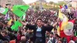 HDP'den Diyarbakır'da Son Referandum Mitingi