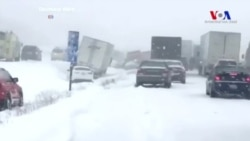 Stella Kar Fırtınası ABD'nin Kuzeydoğusunu Vurdu