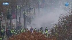 Paris'teki 'Sarı Yelekliler' Protestosunda Çatışmalar