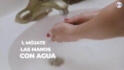 ¿Cómo lavarte las manos correctamente para prevenir el coronavirus?