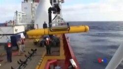 2014-04-15 美國之音視頻新聞: 失蹤客機搜尋海域太深 無人潛艇浮出水面