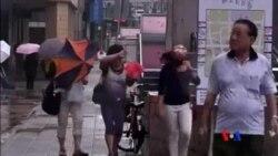 2014-07-23 美國之音視頻新聞: 颱風麥德姆侵襲台灣