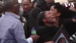 Gia đình khóc thương các nạn nhân vụ rơi máy bay Ethiopia