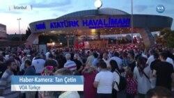 Atatürk Havalimanı'nda 15 Temmuz Anıldı