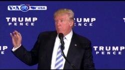 Ông Trump tố hàng triệu người gian lận bầu cử (VOA60)