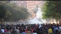 2012-11-27 美國之音視頻新聞: 埃及民眾憤怒抗議總統政令