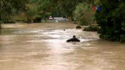 Históricas inundaciones en la Costa Este de EE.UU.