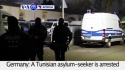 VOA60 Africa - Tunisian IS Suspect Arrested Over Attack Plot in Germany