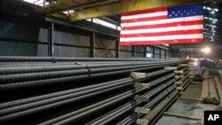 미국 미네소타주 세인트폴의 철강공장.
