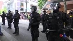 波特蘭警方逮捕至少13人 繳獲大量武器