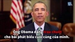 Có gì trong bài phát biểu từ biệt của ông Obama?