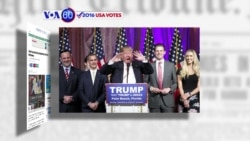 VOA60 Elections - Donald Trump warns GOP of rioting