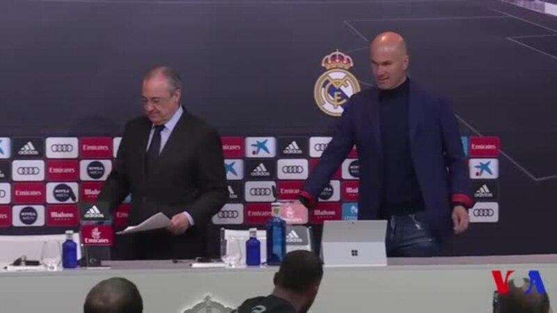 Zidane quitte le Real Madrid (vidéo)