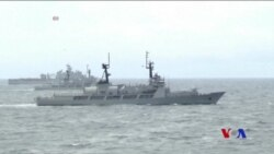中國抗議美戰艦越過南中國海的人工島礁 (粵語)