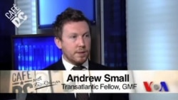 Cafe DC: Andrew Small, Transatlantic Fellow, GMF