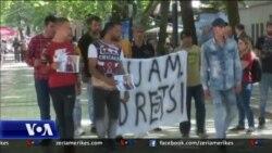 Shqipëri: Protesta e bashkësisë egjiptiane