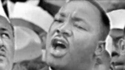 活动人士借马丁路德金纪念日聚集白宫提出各种诉求