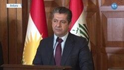 IKBY Başkanı Barzani: 'PKK'nın Sincar'da Olmasına Karşıyız'