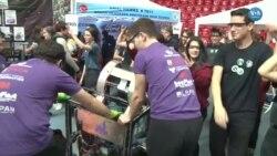 Ankara'da Robot Yarışması