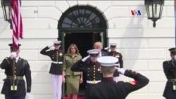 Presidente de Argentina se reúne con Donald Trump