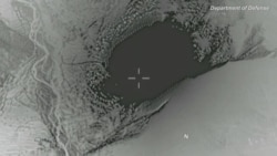 DOD Footage of MOAB Bomb US Dropped on IS Bunker in Afghanistan