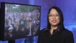 Người biểu tình Thái Lan chiếm Bộ Tài chánh