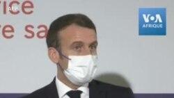 """Covid-19: Pour Macron, """"On ne sait pas tout sur les premiers vaccins"""""""
