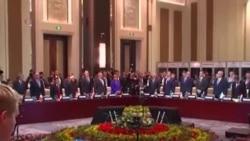 53國亞歐領導人承諾對抗恐怖主義