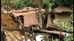 2014-10-30 美國之音視頻新聞: 斯里蘭卡山體滑坡死亡人數攀升