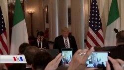 Pirsa Îranê di Preskonferensa Trump û Giuseppe de