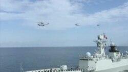 """中国海军深入南中国海""""领土最南端""""宣示主权"""