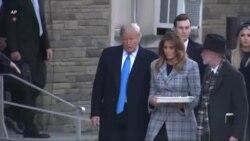 Президент США и Первая леди возложили цветы и камни в Питтсбурге