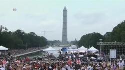 奧巴馬發表演說紀念華盛頓大遊行50週年