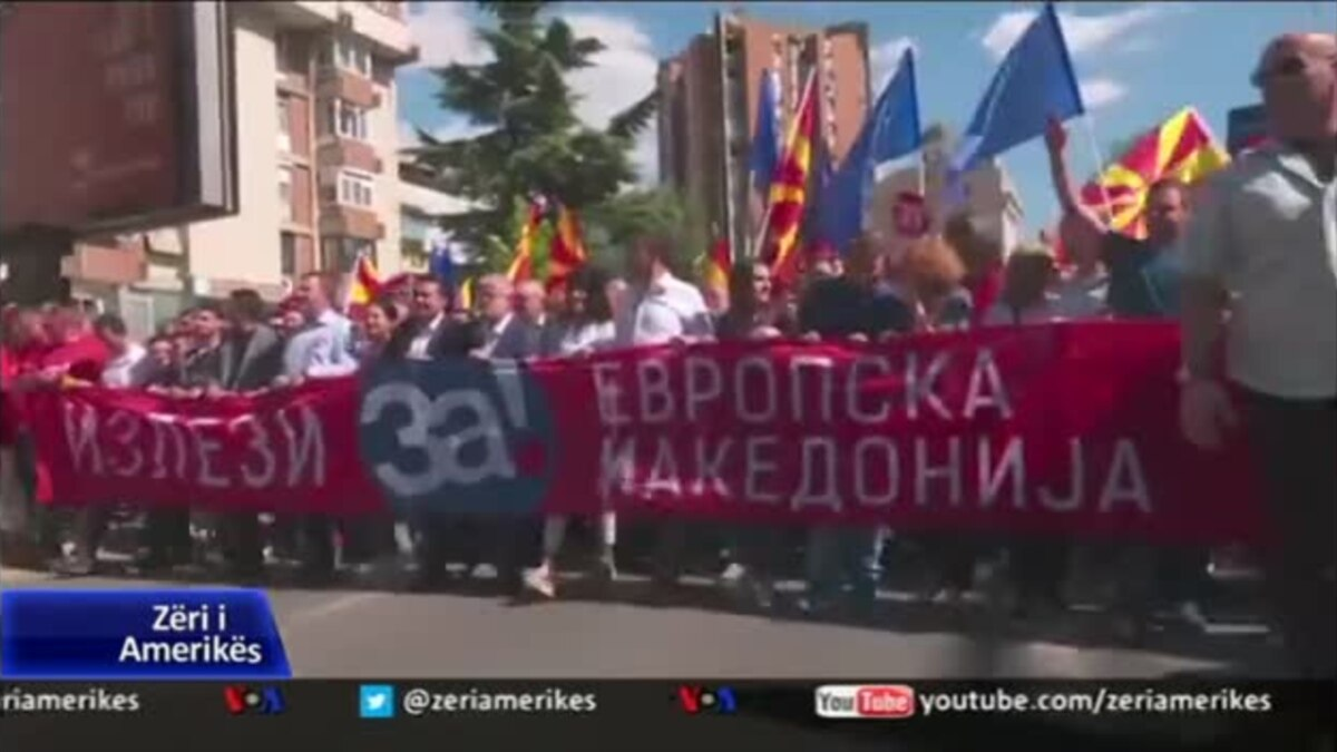 Fushata për referendumin në Maqedoni