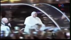 Người Philippines nồng nhiệt chào đón Đức Giáo hoàng