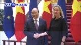 Thủ tướng Phúc thảo luận với EU về hợp tác thương mại và an ninh