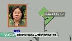 VOA连线(钟辰芳):香港情势升温中国或武力介入,专家呼吁严防台湾成下一目标