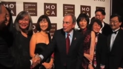 2013-11-15 美國之音視頻新聞: 紐約市長彭博獲華裔肯定 繼續推動移民法改革