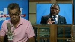 Washington Fora d'horas 4 de Julho: Filipe Nyusi diz que muita ajuda prometida não chegou ainda