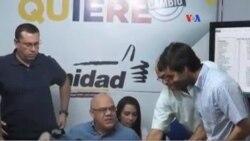 Oposición venezolana valida firmas para el revocatorio