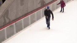 На коньках в Нью-Йорке
