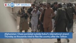 VOA60 World - American forces will evacuate as many people as possible from the Kabul airport
