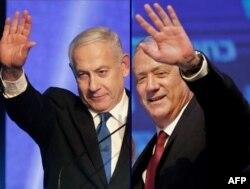 Netanyahu ve koalisyon ortağı Gantz