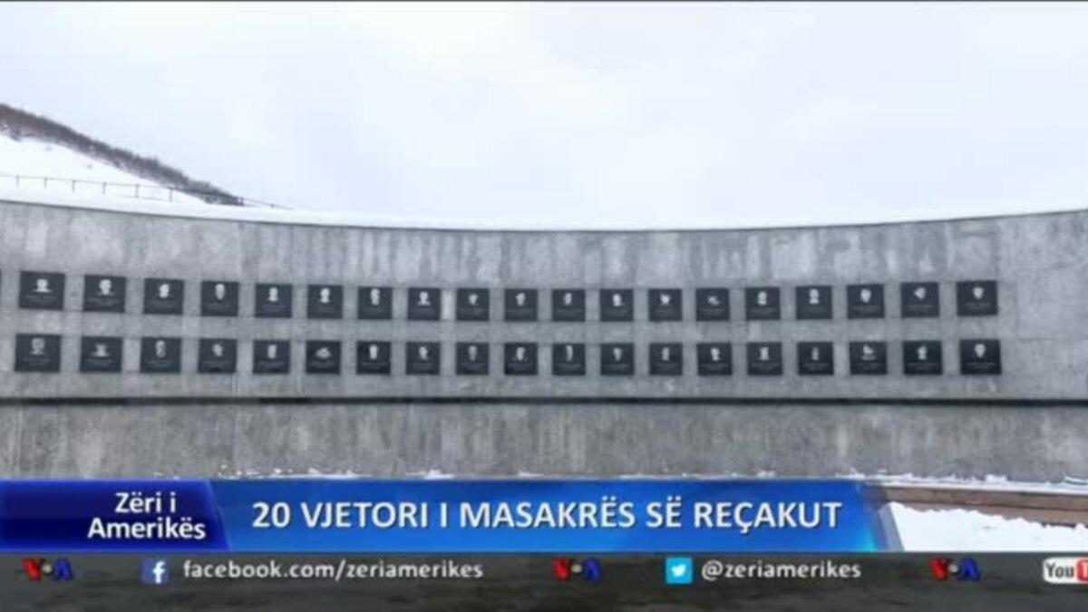 20 vjetori i masakrës së Reçakut në Kosovë