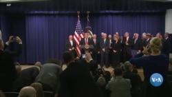Muro de Trump pára o governo