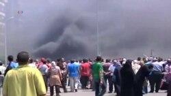 Разгон протестующих в Каире
